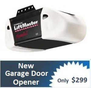 Garage-Door-Opener $299